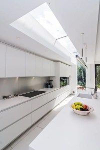 30 Airy And Welcoming All-White Kitchen Designs - DigsDigs