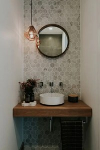 3 Tips And 27 Ideas To Design A Cool Powder Room - DigsDigs
