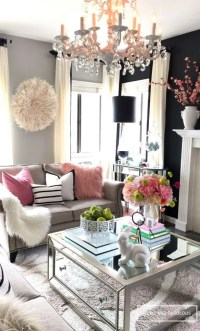 25 Swoon-Worthy Glam Living Room Decor Ideas - DigsDigs