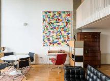 Mid-Century Modern Eclectic Loft