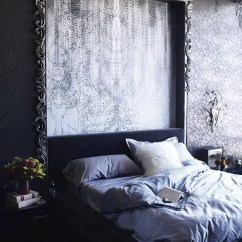 White And Grey Living Room Country Rooms 2016 Gothic Glam Industrial Loft With Dramatic Interiors - Digsdigs
