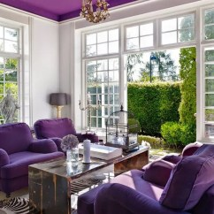 Floral Upholstered Chair Round Kitchen Tables And Chairs Pantone's 2018 Color Ultra Violet 25 Ways To Rock It In Decor - Digsdigs