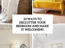 23 Ways To Declutter Your Bedroom And Make It Welcoming