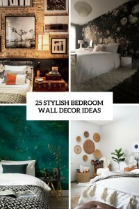 25 Stylish Bedroom Wall Decor Ideas - DigsDigs