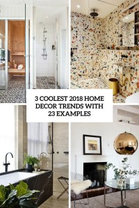 2018 home decor trends Archives - DigsDigs