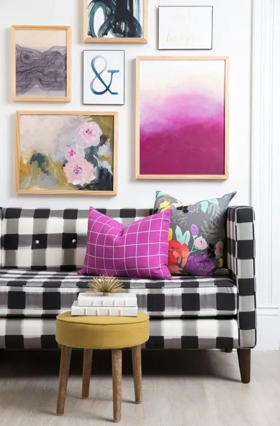 25 Fresh Ways To Style Your Home With Buffalo Check DigsDigs