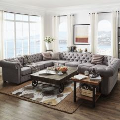 Oversized Sectional Sofas Low Profile Sofa Legs 25 Chic To Incorporate Into Interior ...