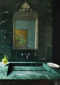 25 Trendy Green Marble Home Decor Ideas - DigsDigs
