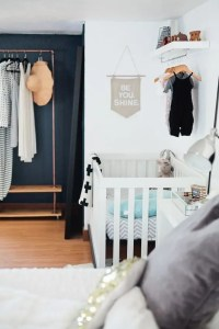26 Ideas To Make A Nursery Work In A Master Bedroom - DigsDigs