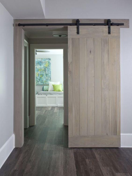 25 Sliding Barn Doors Ideas For A Rustic Feel  DigsDigs