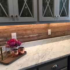 Cream Kitchen Cabinet Ideas Rug 24 Wooden Backsplashes For A Wow Effect - Digsdigs