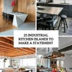 25 Industrial Kitchen Islands To Make A Statement Digsdigs