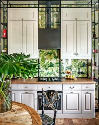 25 Wallpaper Kitchen Backsplashes With Pros And Cons ...
