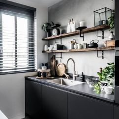 Industrial Kitchen Backsplash 3 Piece Set 25 Concrete Backsplashes With Pros And Cons - Digsdigs