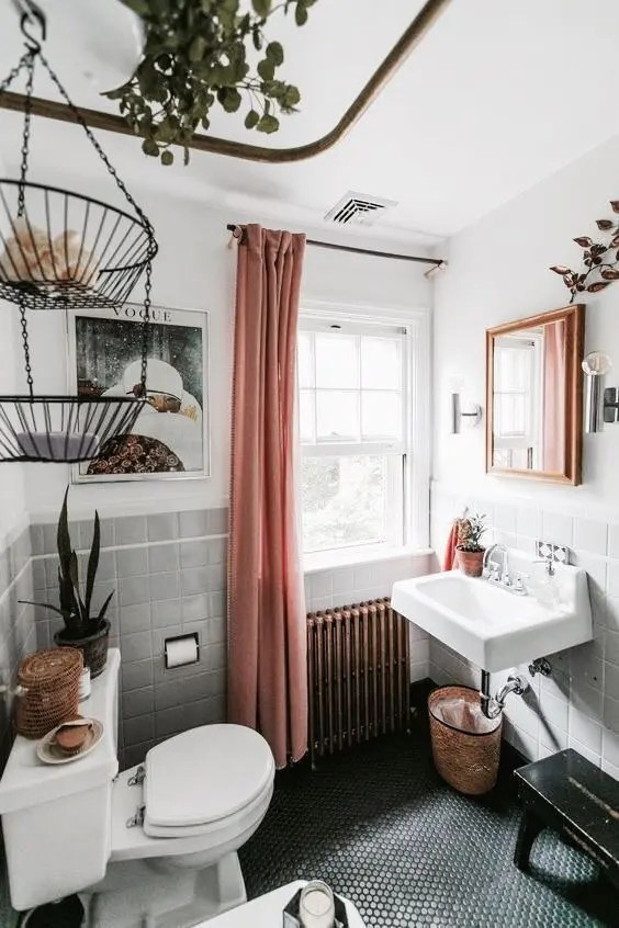 24 Examples To Pull Off Boho Style In Your Bathroom  DigsDigs