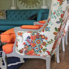Wingback Chair Upholstery Ideas Best Chairs For Gaming Reddit 25 Mixed Furniture Items A Colorful Touch - Digsdigs