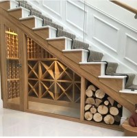 25 Under Stairs Wine Cellars And Wine Storage Spaces ...