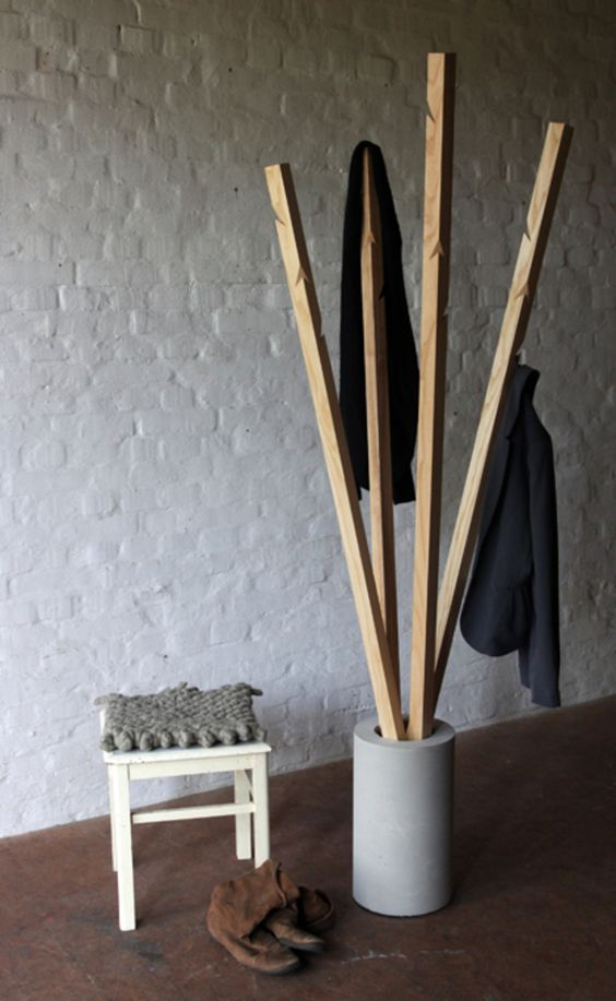 25 free standing coat racks and stands