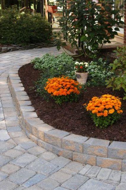 stylish garden bed edging ideas
