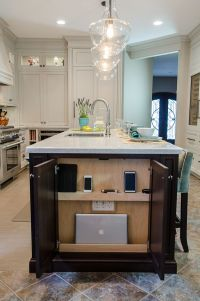 25 Functional Kitchen Charging Stations - DigsDigs
