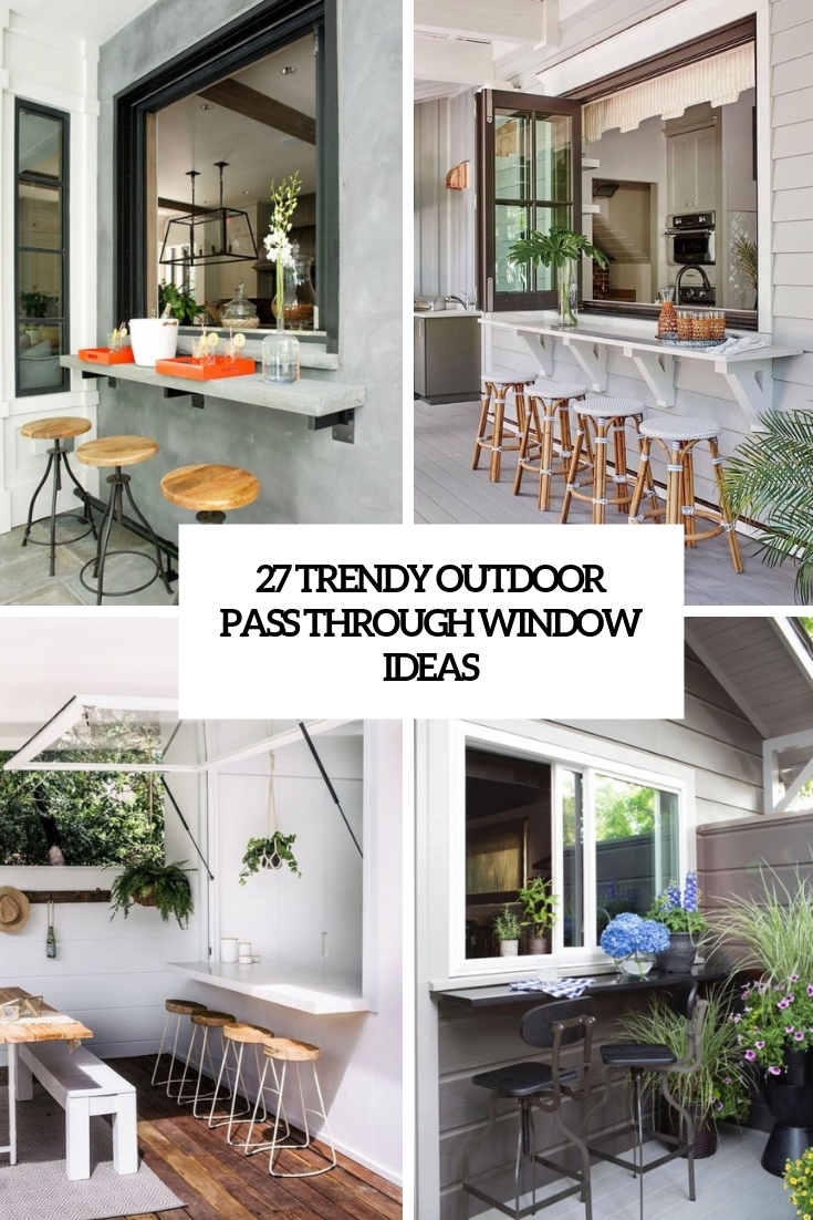 27 trendy outdoor pass through window