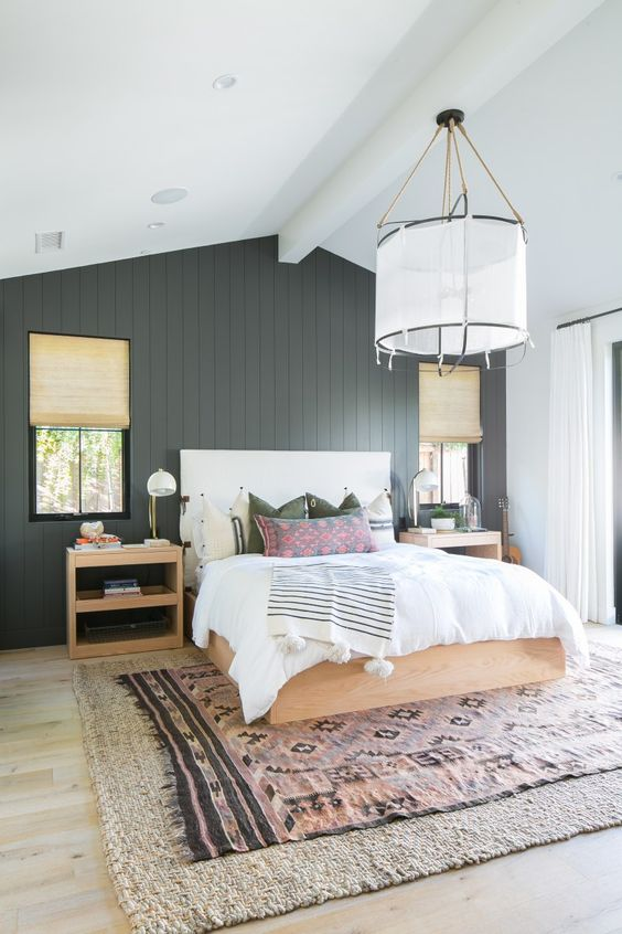 It is a color that can look very powerful on your bedroom walls also. 25 Ways To Use Shiplap In Your Home Decor - DigsDigs