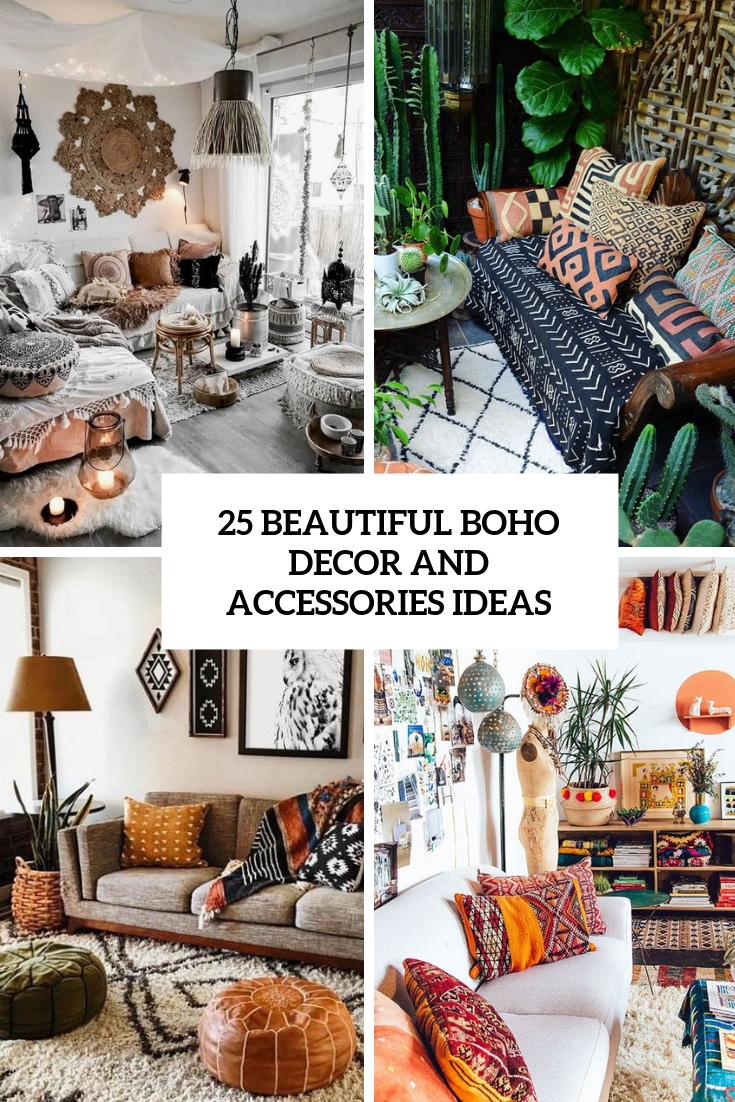 25 Beautiful Boho Decor And Accessories Ideas Digsdigs