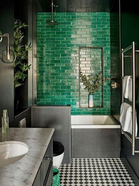 bold bathroom tiles ideas