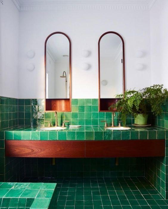 green wall tiles bathroom paulbabbitt com