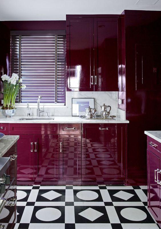 25 stunning purple kitchen decor ideas