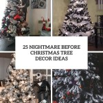 25 Nightmare Before Christmas Tree Decor Ideas Digsdigs