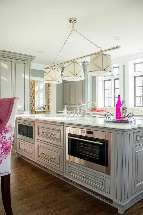 Picture Of Kitchen Island With A Grill