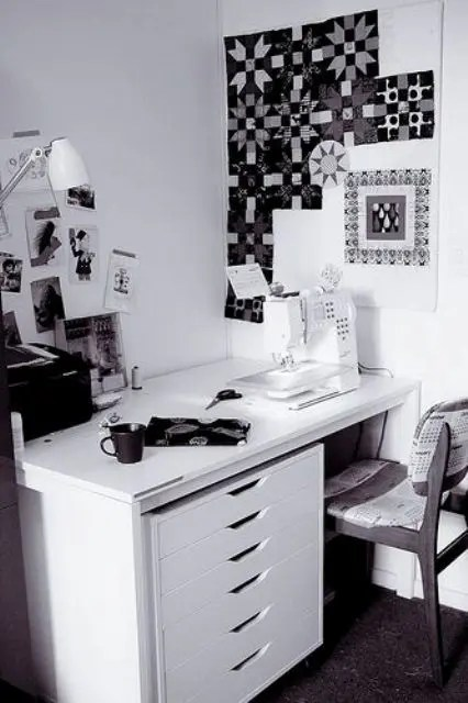 home desk chairs papasan chair with cushion 6 ikea melltorp dining table uses and 15 hacks - digsdigs