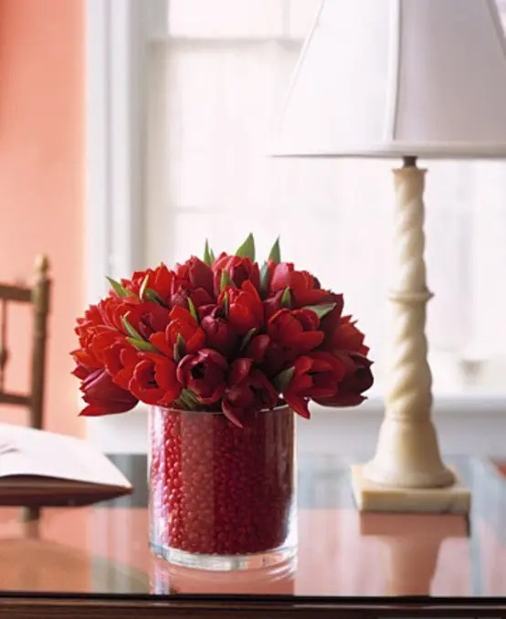 25 Flower Decoration Ideas For Valentines Day DigsDigs