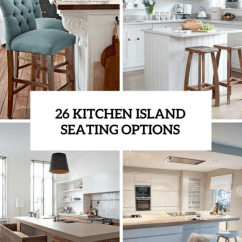 Diy Kitchen Island With Seating Covered Outdoor 26 Modern And Smart Options - Digsdigs