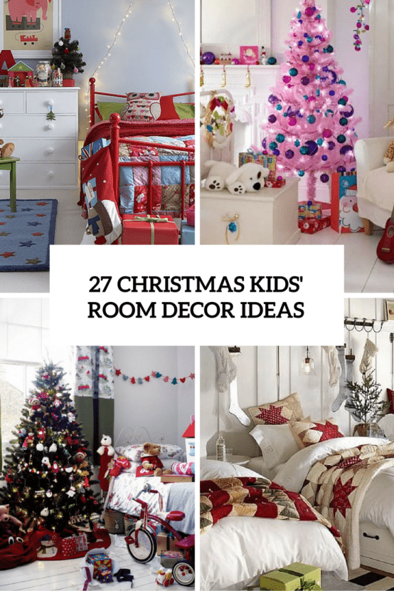 fun chairs for kids rooms vanity with mirror and chair 27 cool christmas decor ideas digsdigs room cover