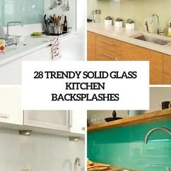 Glass Kitchen Backsplash Small Apartment Ideas Colorful Archives Digsdigs 28 Trendy Minimalist Solid Backsplashes