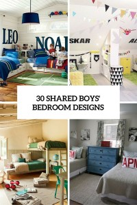 30 Awesome Shared Boys Room Designs To Try