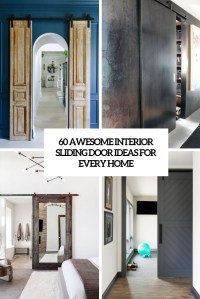 33 Awesome Interior Sliding Doors Ideas For Every Home ...