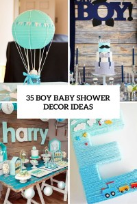 35 Boy Baby Shower Decorations That Are Worth Trying ...