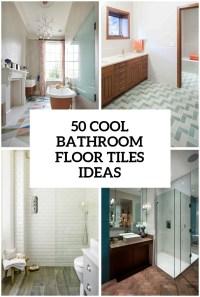 41 Cool Bathroom Floor Tiles Ideas You Should Try