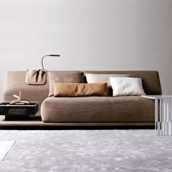 Contemporary Sofa Bed How To Fix Cut In Leather Comfortable By Molteni Digsdigs