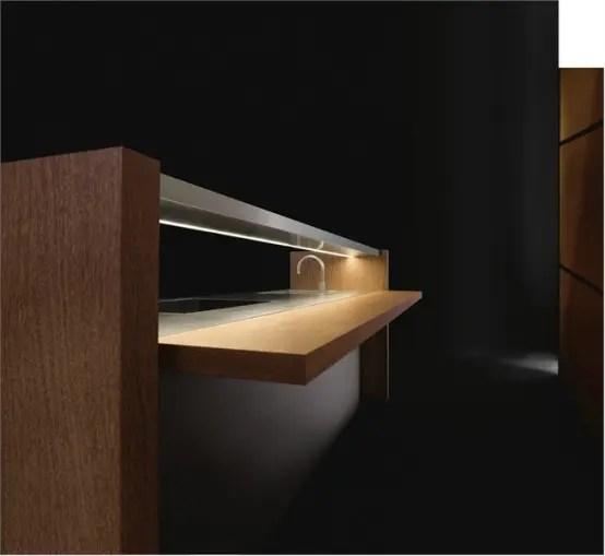 33 x 22 kitchen sink cost per linear foot cabinets elegant wooden - bridge by armani/dada digsdigs