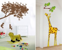 Funny Kids Wall Stickers By Acte Deco | DigsDigs