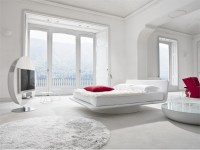 Leather Bed For White Bedroom Design  Giotto By Bonaldo ...