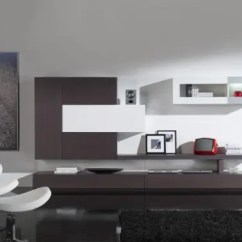 Black Wall Units For Living Room Large Art Ideas Minimalist Furniture Modern - Day From ...