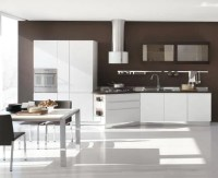 New Modern Kitchen Design with White Cabinets  Bring from ...