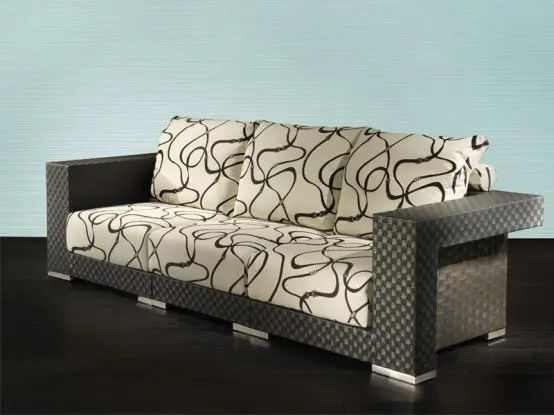 modern patio sofa free pick up new outdoor furniture from fendi casa - digsdigs