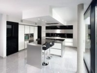 New Modern Black and White Kitchen Designs from ...