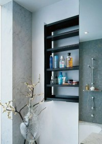 Sliding Bathroom Storage Unit Hidden In A Wall  Crab By